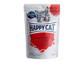 Happy Cat kapsa Meat in Sauce Adult Tele a játra 85g