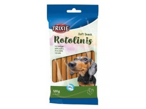 Trixie ROTOLINIS a drůbeží pro psy 12ks 120g TR