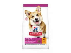 Hill's Can.Dry SP Adult Small&Mini Chicken 1,5kg