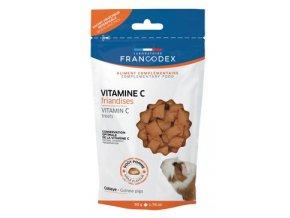 Francodex Pochoutka Vitamin C morče 50g