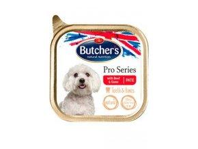 Butcher's Dog WAD P s hovězím a zvěřinou pate 150g