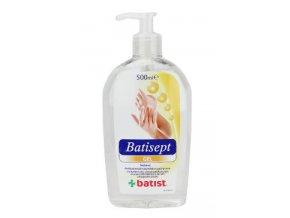 Batisept gel 500ml pro dezinfekci rukou a kůže