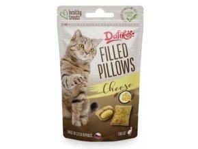 Dafíko plněné polštářky pro kočky sýrové 40g
