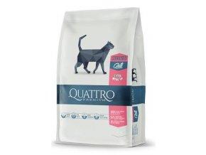 QUATTRO Cat Dry Premium all Breed Steril. Drůbež 1,5kg