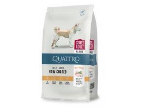 QUATTRO Dog Dry Premium All Breed ACTIVE Adult 12kg