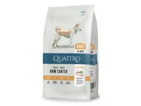 QUATTRO Dog Dry Premium All Breed Adult Drůbež 12kg