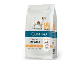 QUATTRO Dog Dry Premium Mini Adult Drůbež 1,5kg
