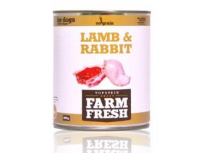 Farm Fresh Dog Lamb&Rabbit konzerva 800g
