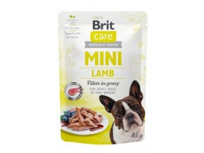 Brit Care Dog Mini Lamb fillets in gravy 85g