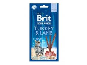 Brit Premium Cat by Nature Sticks Turkey&Lamb(3pcs)