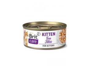 Brit Care Cat konz Fillets Kitten Tuna 70g