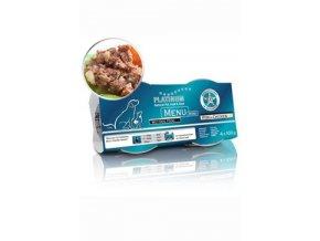 Platinum Menu Mini Pure Fish 4x100g