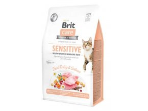 Brit Care Cat GF Sensit. Heal.Digest&Delic.Taste 0,4kg
