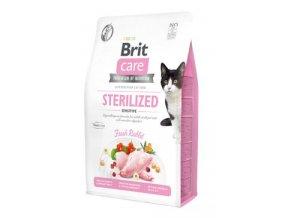 Brit Care Cat GF Sterilized Sensitive 2kg