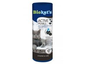 Biokat's uhlí do WC Active pearls 700ml