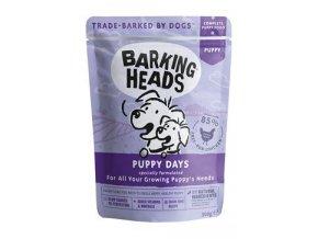 BARKING HEADS Puppy Days kapsička NEW 300g