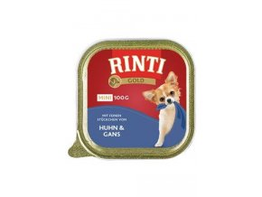 Rinti Dog Gold Mini vanička kuře+husa 100g