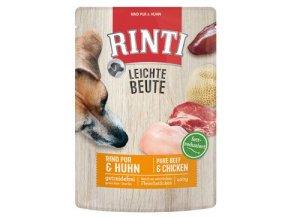 Rinti Dog Leichte Beute kapsa hovězí+kuře 400g