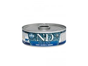 N&D CAT OCEAN Adult Tuna & Salmon 80g
