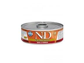 N&D CAT PUMPKIN Adult Quail & Pumpkin 80g