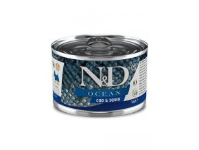 N&D DOG OCEAN Adult Codfish & Squid Mini 140g