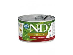 N&D DOG PRIME Adult Chicken & Pomegranate Mini 140g