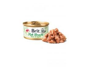 Brit Cat konz Brit Fish Dreams Tuna & Squid 80g