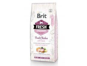 Brit Fresh Dog Chicken&Potato Puppy HealthyGrowth2,5kg