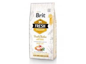 Brit Fresh Dog Chicken & Potato Adult Great Life 12kg