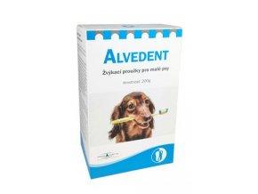 Alvedent enzymatické žvýkací proužky pro malé psy 200g