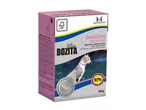 Bozita Feline Hair & Skin - Sensitive TP 190g