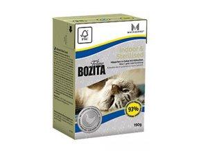 Bozita Feline Indoor & Sterilised TP 190g