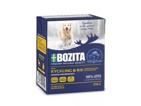 Bozita DOG Naturals BIG Chicken & Rice/ kuře & řýže 37