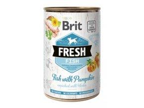 Brit Fresh Dog konz Fish with Pumpkin 400g