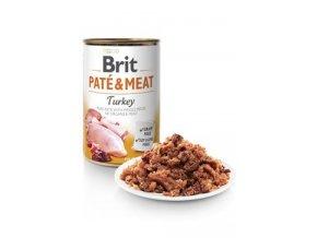 Brit Dog konz Paté & Meat Turkey 800g