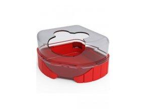 Komponenty Rody 3-toaleta červená Zolux