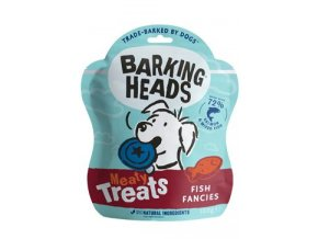 BARKING HEADS Meaty Treats Fish Fancies 100g
