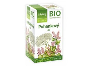 Čaj Apotheke Bio Pohanka 20x1,5g