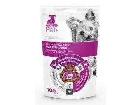 Pochoutka Pet+ 3v1 pes FOR CITY DOGS kuřecí 100g