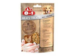 Pochoutka 8in1 Meaty Treats FD Chicken 50g