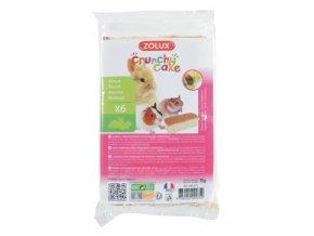Crunchy Cake ořech pro hlodavce 75g Zolux