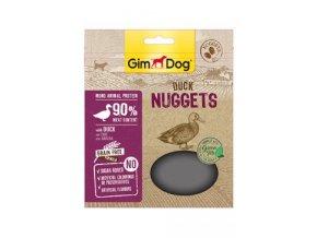GIMDOG Superfood Duck Nuggets se zeleným čajem 55g