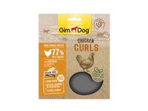 GIMDOG Superfood kuřecí vlnky 55g
