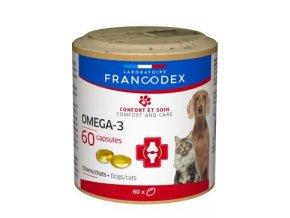 Francodex Omega 3 Capsules pes, kočka 60tab