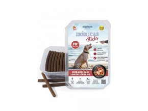 Pochoutka Ibéricas Sticks for Dog-Serano Ham 800g 75ks