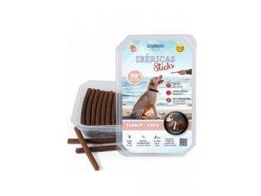 Pochoutka Ibéricas Sticks for Dog-Turkey 800g 75ks