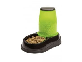 Miska se zásob. na krmivo 1,5kg černo-zelená Maelson