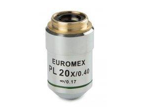 Objektiv k mikroskopu Euromex infinty Pl 20x