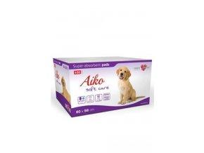 Podložka absorb. pro psy Aiko Soft Care 60x58cm 100ks