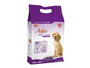 Podložka pro psy Aiko Soft Care s levan. 60x60cm 10ks